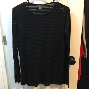 Forever21 shadow stripe top